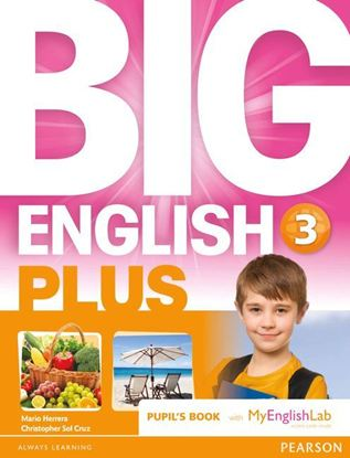Obrazek Big English Plus 3 Pupil's Book with MyEnglishLab