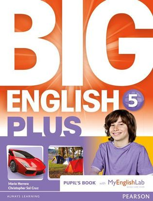 Obrazek Big English Plus 5 Pupil's Book with MyEnglishLab