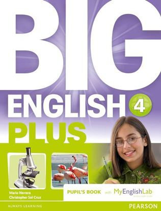 Obrazek Big English Plus 4 Pupil's Book with MyEnglishLab