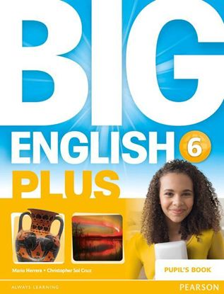 Obrazek Big English Plus 6 Pupil's Book with MyEnglishLab