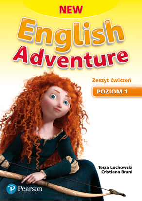 Obrazek New English Adventure 1. Zeszyt ćwiczeń plus karty pracy plus DVD