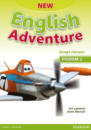 Obrazek New English Adventure 2. Zeszyt ćwiczeń plus karty pracy plus DVD