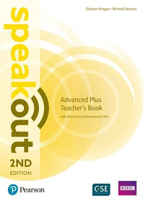 Obrazek Speakout 2ed Advanced PLUS Teacher's Book with Resource & Assessment Disc Pack