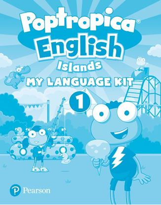Obrazek Poptropica English Island 1. Activity Book with My Language Kit