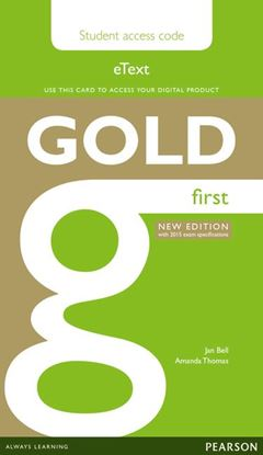 Obrazek Gold First. eText Student's AccessCodeCard