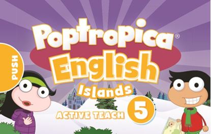 Obrazek Poptropica English Islands 5. Active Teach USB