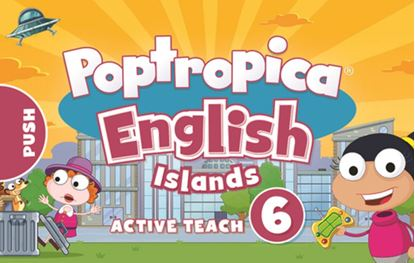 Obrazek Poptropica English Islands 6. Active Teach USB