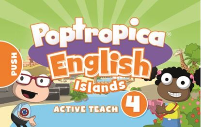 Obrazek Poptropica English Islands 4 Active Teach USB