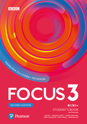 Obrazek Focus Second Edition 3 Student's Book + Digital Resources