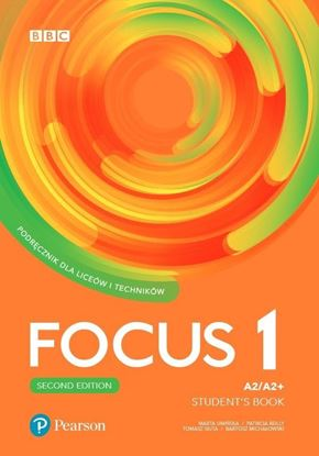 Obrazek Focus 2e 1. Student's Book + kod (eBook)