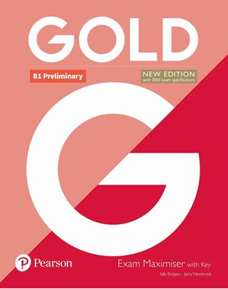 Obrazek Gold B1 Preliminary 2018 Exam Maximiser withKey - 50% off PLS