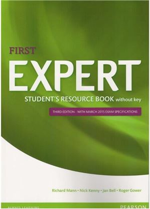 Obrazek Expert First Student's Resource Book with key (3ed)