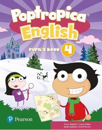 Obrazek Poptropica English 4. Pupil's Book + Online World Access Code