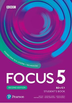 Obrazek Focus Second Edition 5 Student's Book + Digital Resources