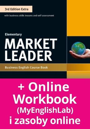 Obrazek Market Leader 3rd Edition Extra Elementary Coursebook with DVD-ROM and MyEnglishLab Pin Pack