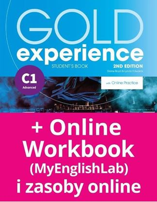 Obrazek Gold Experience 2nd edition C1 Student's Book with Online Practice