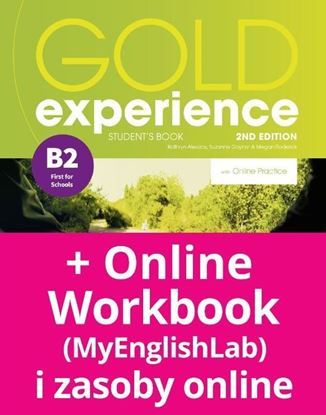 Obrazek Gold Experience 2nd edition B2 Student's Book with Online Practice