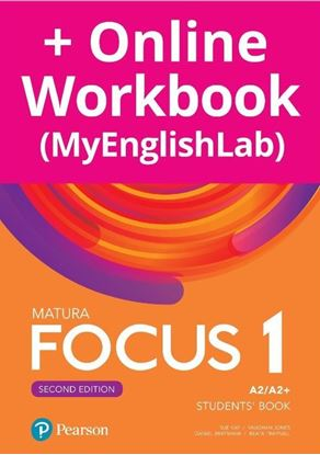 Obrazek Focus 2e 1. Student's Book + kod (MyEnglishLab & eBook)