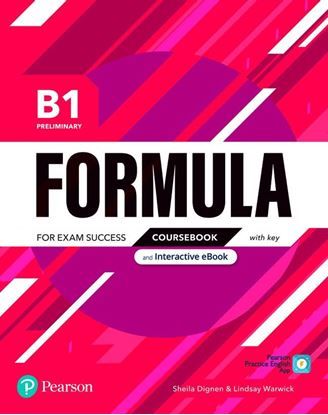 Obrazek Formula. B1 Preliminary. Coursebook with key with student online resources + App + eBook