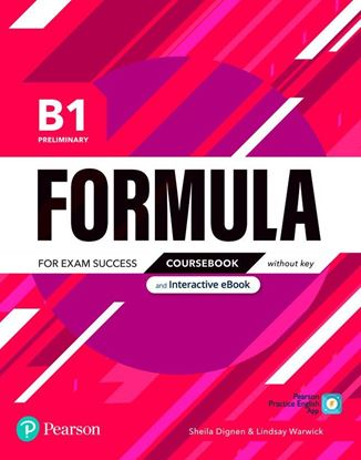 Obrazek Formula. B1 Preliminary. Coursebook without key with student online resources + App + eBook