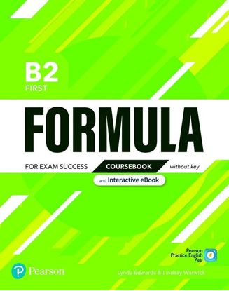Obrazek Formula. B2 First. Coursebook without key with student online resources + App + eBook