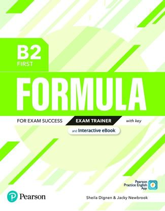 Obrazek Formula. B2 First. Exam Trainer with key with student online resources + App + eBook
